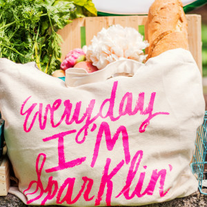 Everday I'm Sparklin' Tote Bag