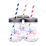 Mason Jars and Straws