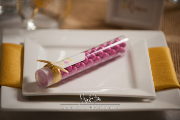candy favor tubes