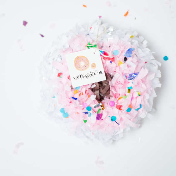 diy mini donut pinata fancy that