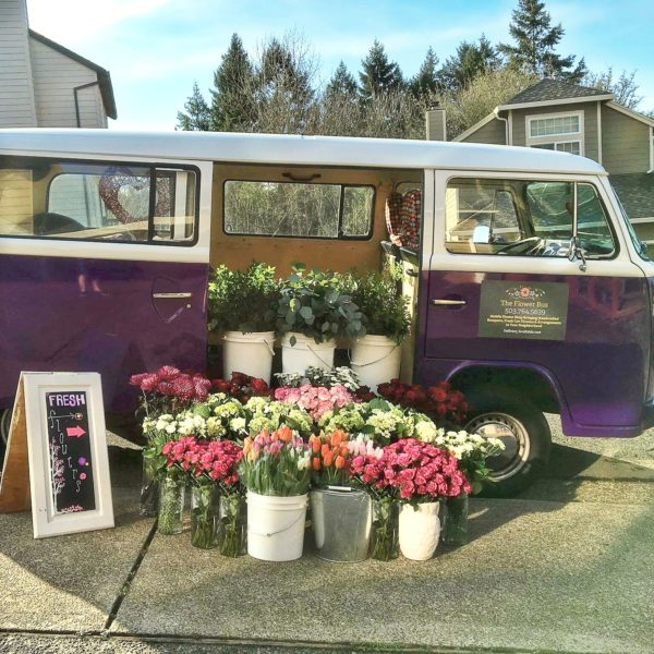 The Flower Bus at Fancy That