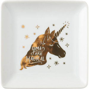 unicorn trinket dish
