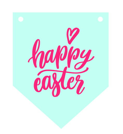 photo regarding Happy Easter Sign Printable identified as easter indications Extravagant That Bash + Present